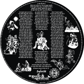 Hanumanchalisayantra Inscription